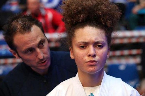 Karaté Emma elisabeth championne d'Europe Jeunes Juniors Budapest 080220