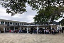 Minute de silence au collège Saint-Michel