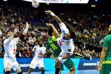 Timothey N'guessan arrière gauche de l'équipe de France