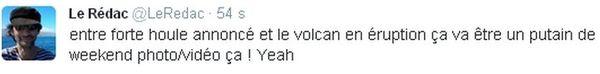 réaction internaute volcan 3