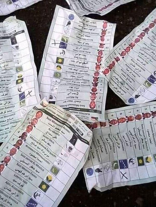 élection aux Comores