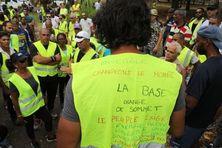 Mobilisation des Gilets Jaunes en novembre 2018.