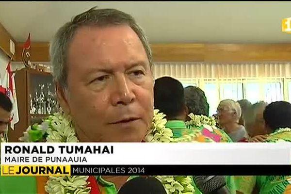Le nouveau visage du conseil municipal à Punaauia