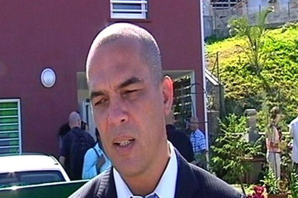 Guito Ramoune, maire de Petite-Île