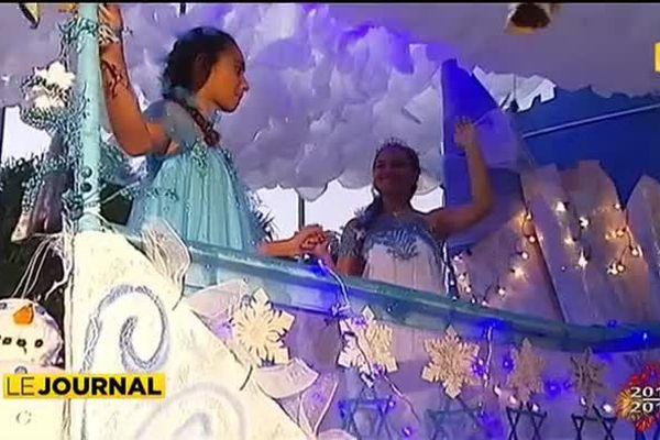 Grand succès au carnaval de Punaauia.