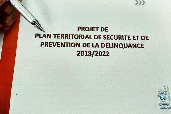 Plan territorial de sécurité et de prévention de la délinquance