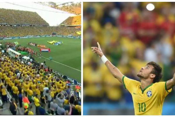 Bresil Croatie Neymar