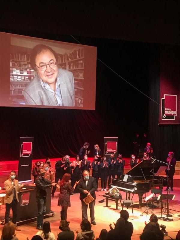 Pot de départ à Radio France pour Frédéric Lodéon