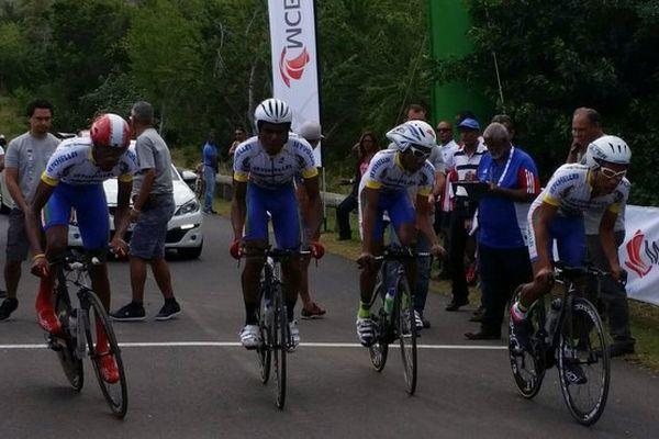 L'équipe des Seychelles