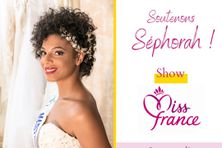 Séphorah Azur, Miss Martinique pour Miss France.
