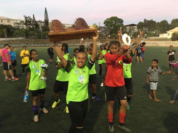 Foot féminin finale coup de Calédonie