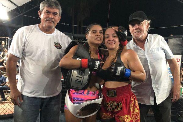 Carole Cicéron des Combattants guyanais vaincue à Oiapoque