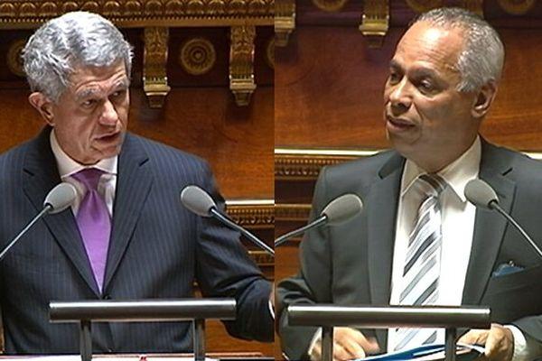 Lurel/Frogier au Sénat