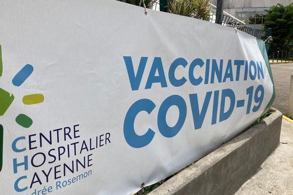 Centre de vaccination de l'encre à Cayenne