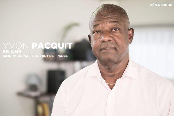 Yvon Pacquit -sénatoriales 2017