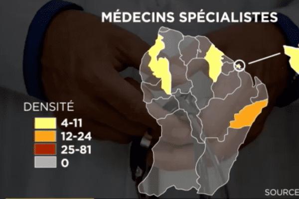 Pénurie de médecins en Guyane
