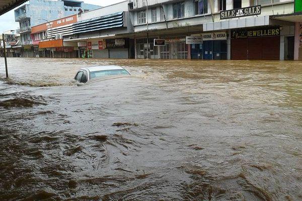 Fidji sous les eaux du cyclone Josie