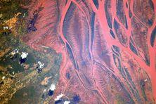 Madagascar vue de l'espace avec les incroyables photos de Thomas Pesquet.