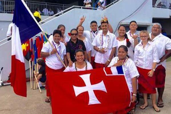 2 médailles d'or pour Wallis et Futuna