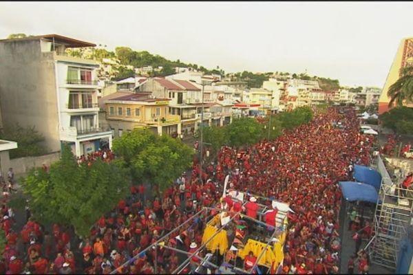 Foule Carnaval FDF