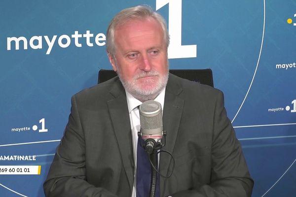le préfet de Mayotte, Jean François Colombet invité de Zakweli