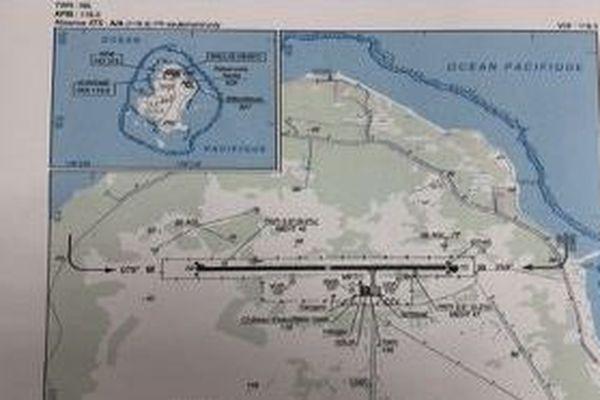 Cartographie de l'aéroport de Wallis