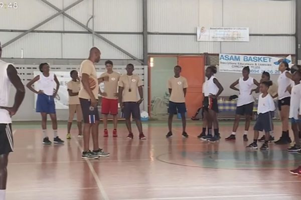 Macouria : le camp sportif de l'académie sportive Kanawa