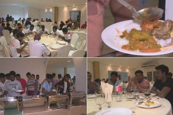Un Noël solidaire pour les migrants sri-lankais arrivés à La Réunion