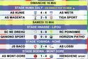 """Super ligue de football : les résultats de la """"première"""" journée"""