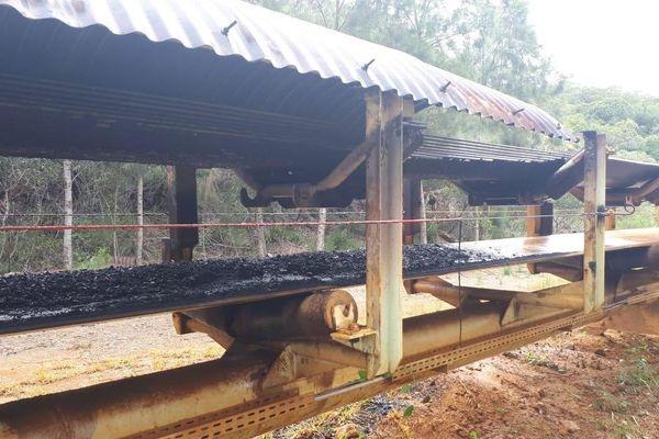 Serpentine de Kouaoua brûlée le 6 mai 2019