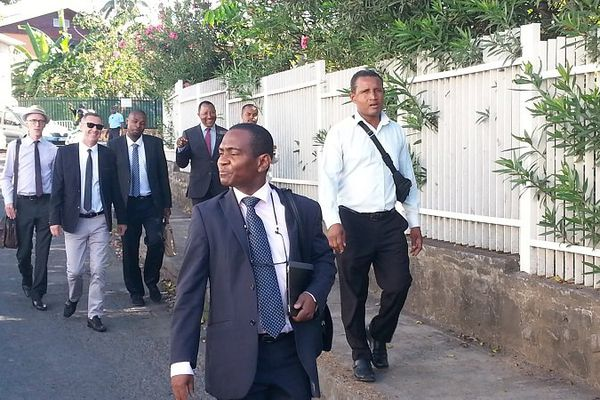 Arrivée délégations