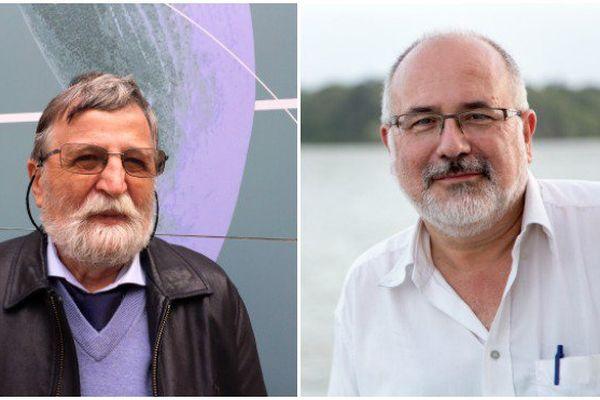 Bertrand Roger de Forges et Philippe Bouchet