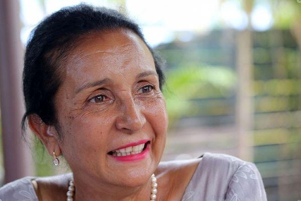 Huguette Bello, maire de Saint-Paul.