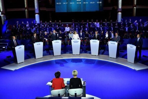 Primaire de la droite et du centre débat 3 novembre
