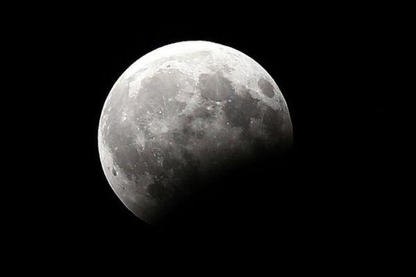 Eclipse partielle de lune du 16 au 17 juillet 2019