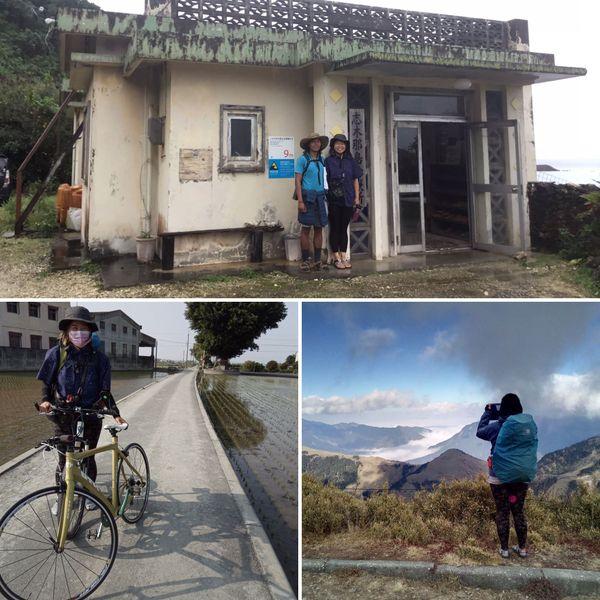 Avec sa compagne Mina, Fabien a découvert en vélo Taïwan et une partie du Japon