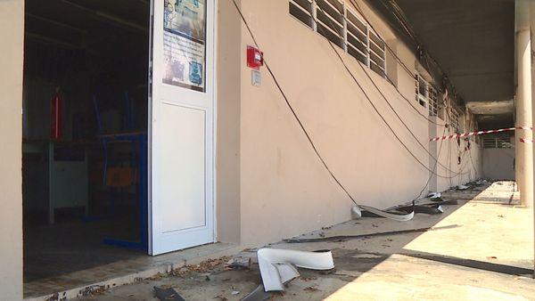 Après l'incendie au collège Sainte-Marie de Païta, 18 novembre 2018