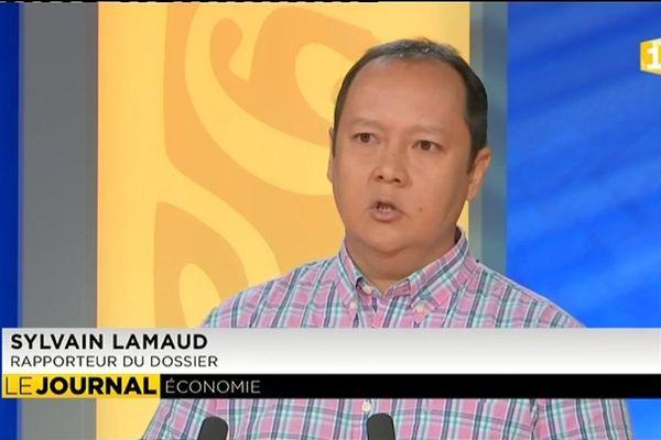 Sylvain Lamaud, rapporteur au CESC d'un nouveau projet de loi en faveur des entreprises sinistrées.