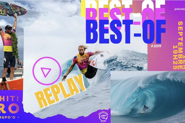 [REPLAY] Tahiti Pro : le best-of 2019