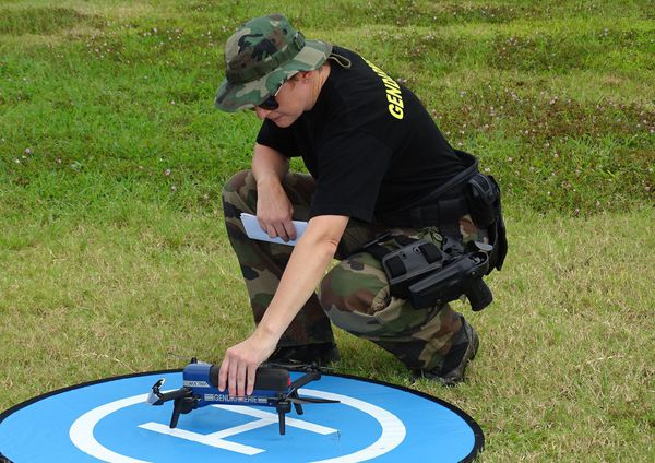 gendarmerie formation drone