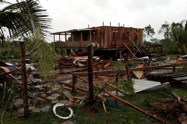 Honduras Ouragan Iota