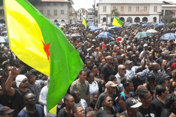manifestations massives en guyane
