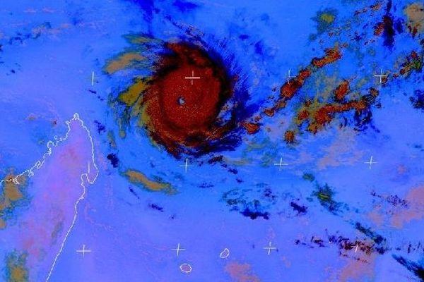 Eumetsat image sat du 8 novembre 2018 UTC  + 2 heures