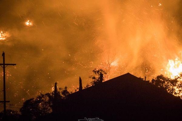 Un incendie à Los Angeles