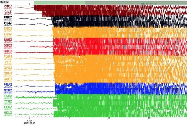 Un séisme ressenti ce 21 septembre à La Réunion.