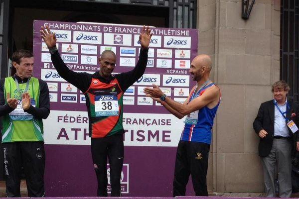 Claude Nohilé Champion de France M2 de semi-marathon