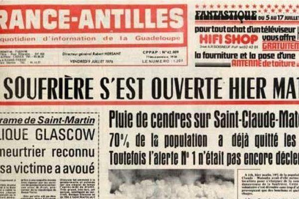 La Soufrière 8 juillet 1976