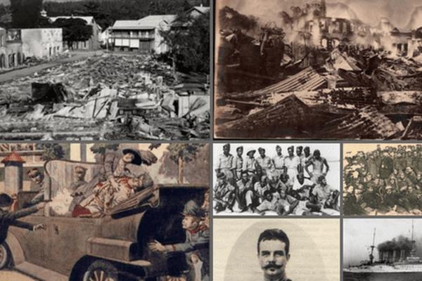 Bombardement de Papeete