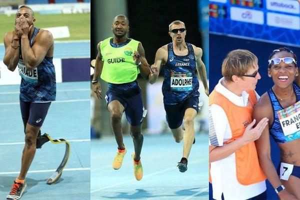 médailles para-athlétisme