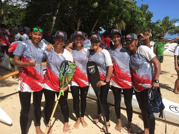 Samoa 2019, victoire des rameuses de Nouvelle-Calédonie en marathon V6